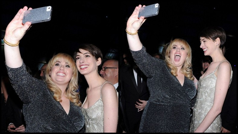 Rebel Wilson, glam