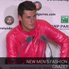 New Men's Fashion Craze?