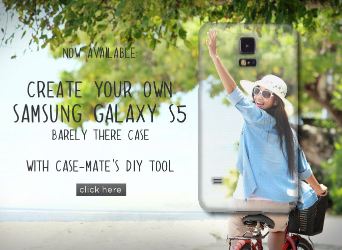 Click here to make your own Samsung Galaxy S5 DIY Case