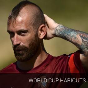 World Cup Haircuts