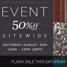 Flash Sale This saturday
